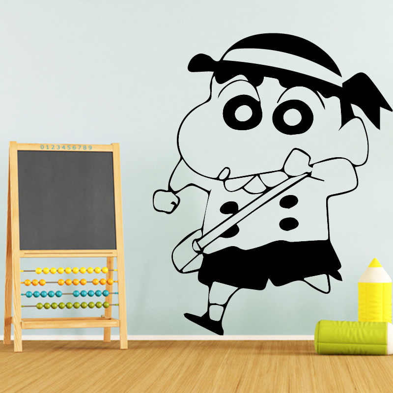 Detail Feedback Questions About Removable Crayon Shin Chan Wallpaper
