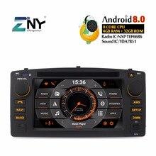 """4 GB 6.2 """"Android 8.0 Car DVD Per Toyota Corolla E120 BYD F3 Auto Radio FM RDS di Navigazione GPS wiFi Audio Video di Trasporto della Macchina Fotografica di Backup"""