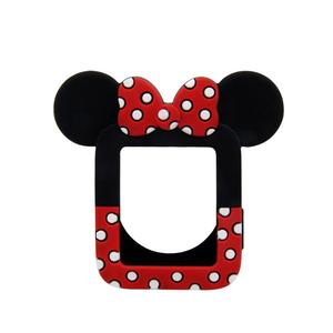 Cute Minnie silicone soft case for apple