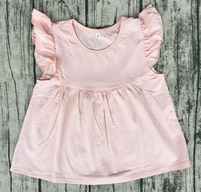 ad3157558566 wholesale boutique clothing china Summer Girls Dresses Lovelybabies Princess  Pearl Dress Flutter Pearl Tee toddler Tunic Top