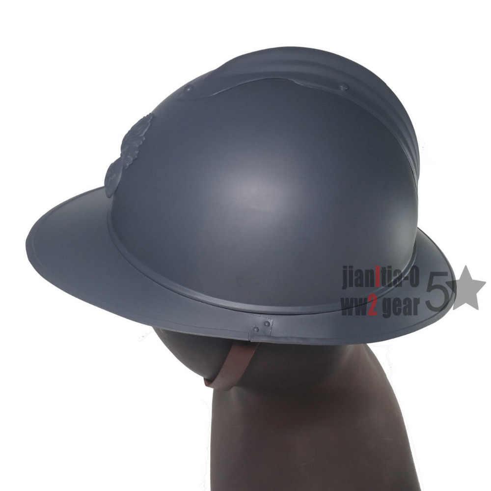 WWI WW1 French Adrian Helmet Steel Military Soldier Type M1915 M15  Infanterie/Infantry