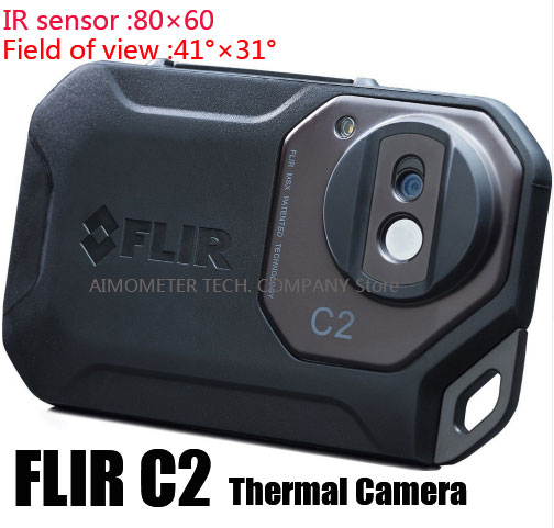 FLIR C2/C3-Wi-Fi все новый оригинальный инфракрасный Термальность Imager Термальность Камера карман размер ИК Камера тепла Сенсор FLIR C2 /C3