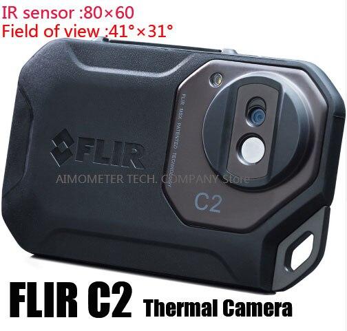 FLIR C2/C3-Wi-Fi Tout Nouvel Original Infrarouge Imageur Thermique thermique caméra poche taille IR Caméra Capteur De Chaleur FLIR C2/C3