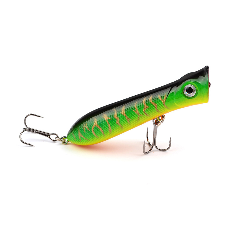 1 Pcs Big Popper Fishing Lures Isca Artificial 3d Eyes 8cm 10.7g Bait Crankbait Wobblers Poper Japan Fishing Tackle WQ8063 fishing lures big hard lure popper wobblers fishing tackle 3d eyes abs bait crankbait isca with hooks 10 colors 1pcs