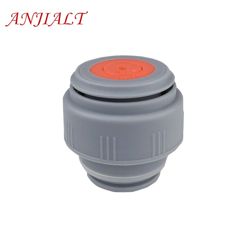 ANJIALT 4.5cm Thermos Cover Vacuum Flsak Stopper Lid Thermocup Cap Bullet Insulation Cup Cover Stainless Thermose PP Accessories lid