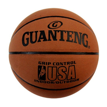 купить Basketball Ball Leather High Quality Genuine Molten PU Material Size 7 Basketball with Net Pocket + gas needle дешево