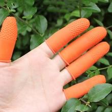 100PCS Beauty Accessories Dust Free White Orange Nail Art La