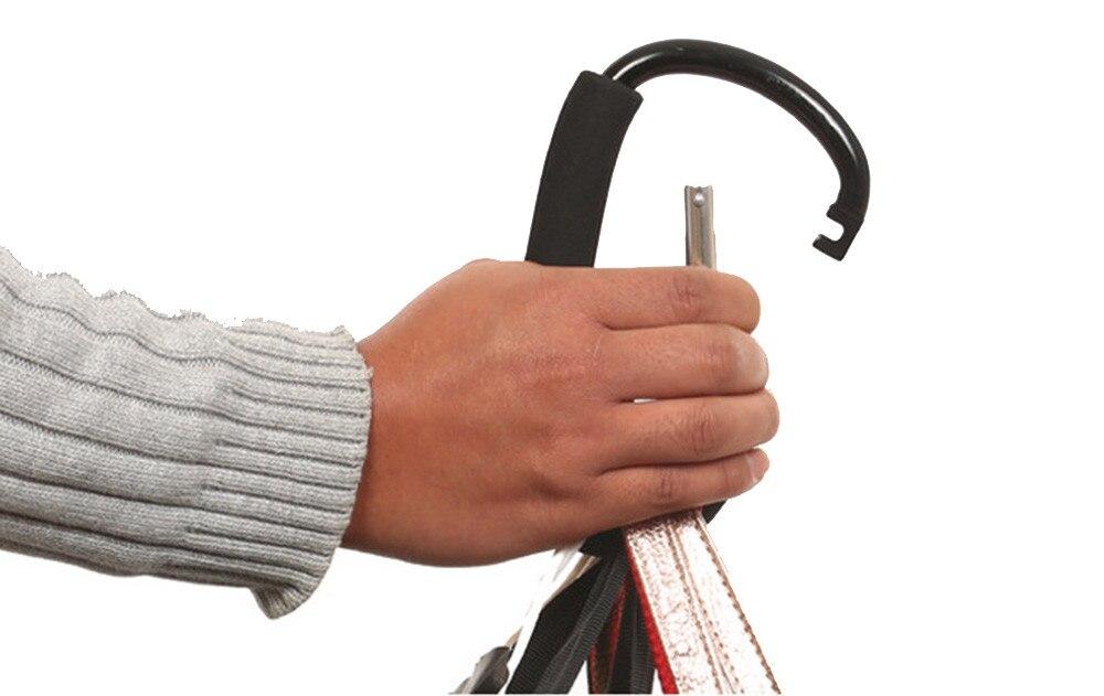 Buggy Mummy Metal Clip Pram Pushchair Shopping Bag Hook Carabiner Practical Tool