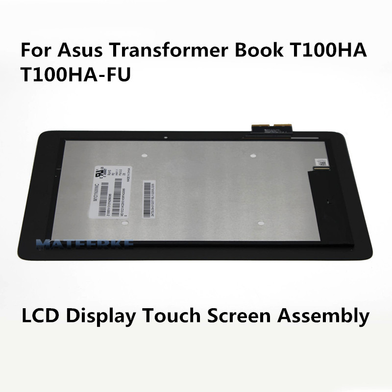 10.1'' Tablet Touch LCD Screen Display Assembly for Asus Transformer Book T100HA T100HA-FU Replacement black full lcd display touch screen digitizer replacement for asus transformer book t100h free shipping