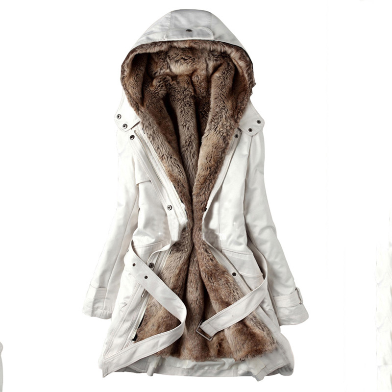 Kinikiss Casual Ladies Basic Coat Jaqueta Feminina Jacket Warm Long Sleeve Women Parkas Cotton Women Winter Jacket #2