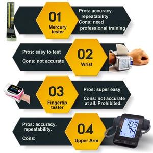 Image 4 - Auto Digital Upper Arm Blood Pressure Monitor Large Cuff Heart Beat Meter Machine Home BP  Health Care Antarestec PH20