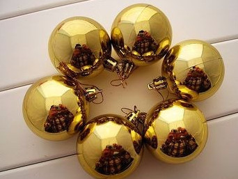 3CM Plastic Christmas ball ornaments bulk with Muti color-in ...