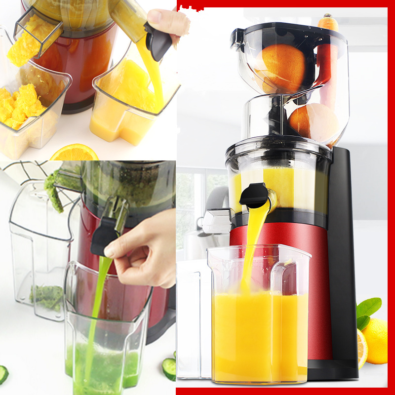 220V Household Electric Slow Juicer Automatic Fruit Vegetable Juice Blender Machine Soya bean Milk Maker Machine