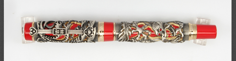 Jinhao dragão e phoenix auspicioso caneta fonte