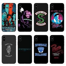 American TV Riverdale Jughead Jones Style Soft Silicone Cover Case For iPhone 6 6S 6Plus 6SPlus 7 7Plus 8 8Plus X 5 5S SE(China)
