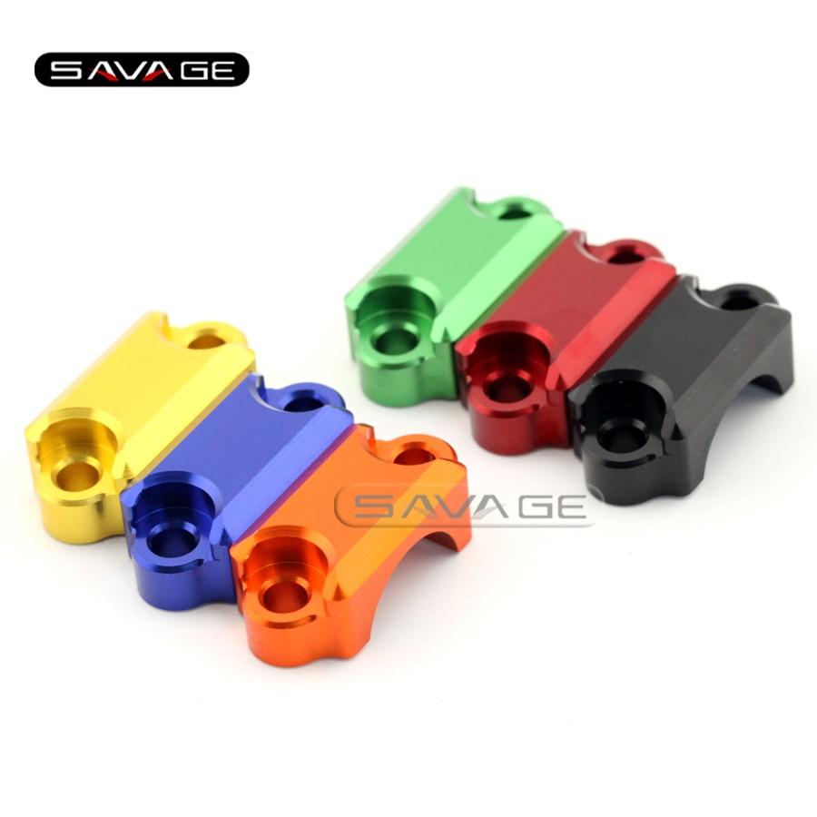 For KAWASAKI EX250R NINJA 250/250R/300 Z250 Z300 Motorcycle CNC Brake Master Cylinder Clamp Handlebar Bar Clamp Cover
