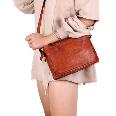 novelty women small geunie leather messenger bag red black brown first layer cowhide one shoulder bag soft causal crossbody bag 2018 novelty genuine leather box shape crossbody bag for women small black cowhide one shoulder bag lady unique design handbag