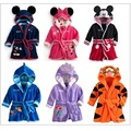 2016 Boys Bathrobe Girls Bath Robes Children Bath Towel Kids Hooded beach towel baby stuff Blanket