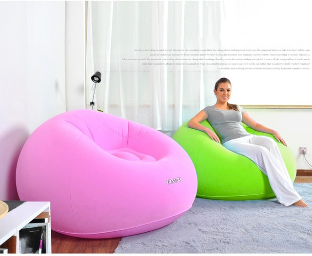 Tienda Online Sofá inflable silla flockingbed muebles de sala ...