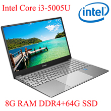 P3-01 8G RAM 64G SSD I3-5005U Notebook  Laptop Ultrabook Backlit IPS WIN10 keyboard and OS language available for choose