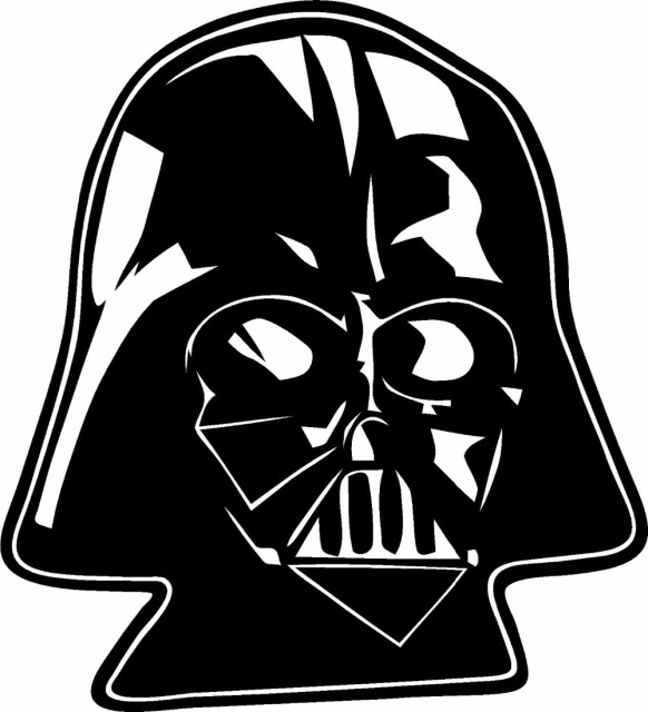 Star wars darth vader vinyl decal sticker