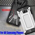 50x armadura resistente à prova de queda de case para samsung galaxy note 7/5/4/3/s5 s6 edge plus/s7 borda neo hybrid silicone tpu + tampa do pc N701