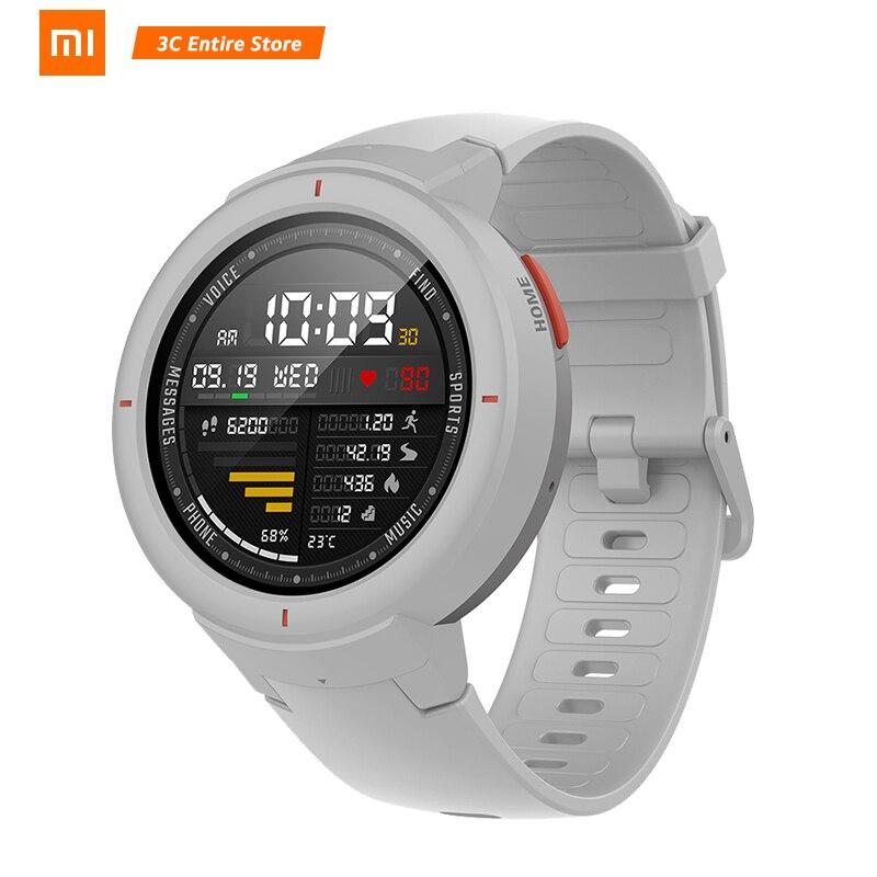 Version mondiale Xiaomi AMAZFIT bord 3 GPS montre intelligente IP68 AMOLED écran réponse appels Smartwatch Multi Sports pour Redmi note 7