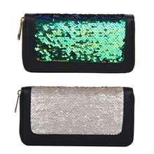 Sparkling Sequined Large-Capacity Leather Women's Purse