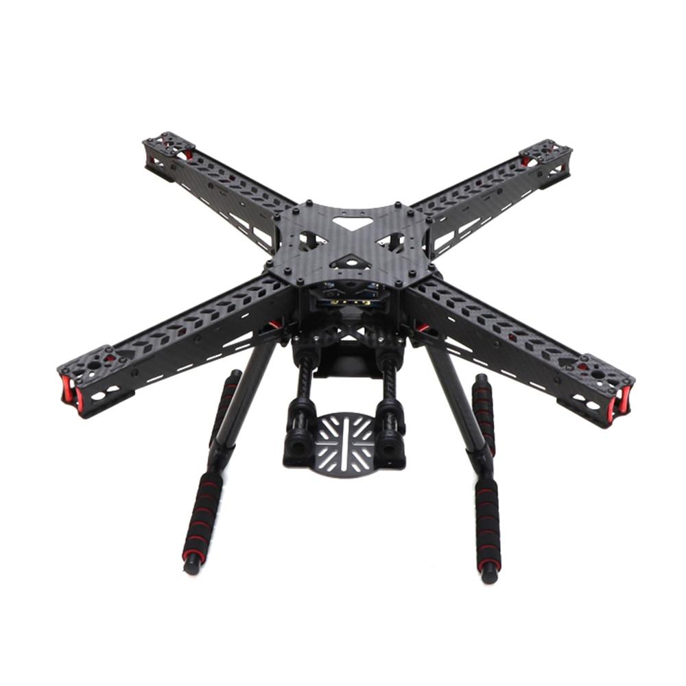 где купить HSKRC Carbon Fiber X450 450 450mm Quadcopter Frame kit w/ Carbon fiber Landing Gear fit for 2 axis / 3 axis gimbal upgrade F450 дешево