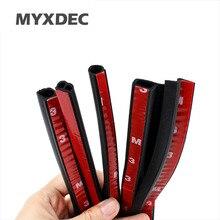 Myxdec 4 м «P», «Z» «D» «b» Тип автомобиля уплотнитель авто двери, окна багажник печать пыле Звук Изоляция из резины epdm полоски для укладки