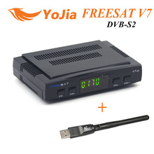 Original DVB-S2 HD Freesat V7 Receptor de TV Por Satélite + WIFI + PowerVu Youtube Youporn Cccamd Newcamd Biss Llave Set Top Box
