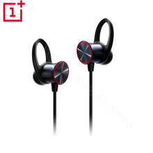 Original OnePlus Bullets Wireless Magnetic control Earphones In-Ear bluetooth Earphone Mic Oneplus 5T 5 6 6t Mobile Phone earbud(China)