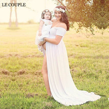 Boat Neck White Maternity Short Sleeve Stretch Cotton Dress