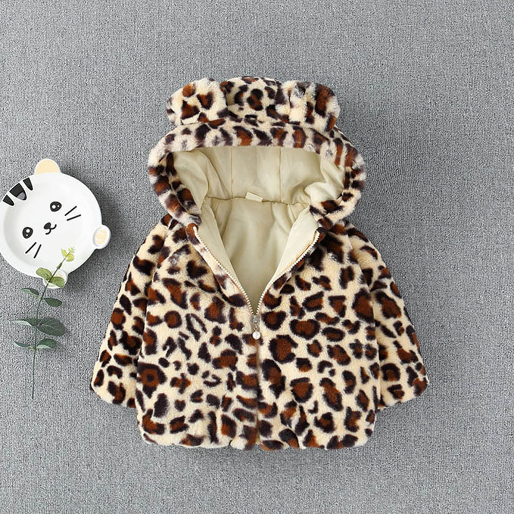 Tkiames Kids/ Baby/ Grils/ Fleece/ Jackets/ Cartton/ Hooded Coat/ Winter/ Hoodie/ Warm Outerwear