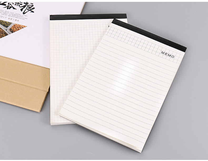 A4 Ivory White Memo Pad For Clipboard 100g Wood Free Paper Legal