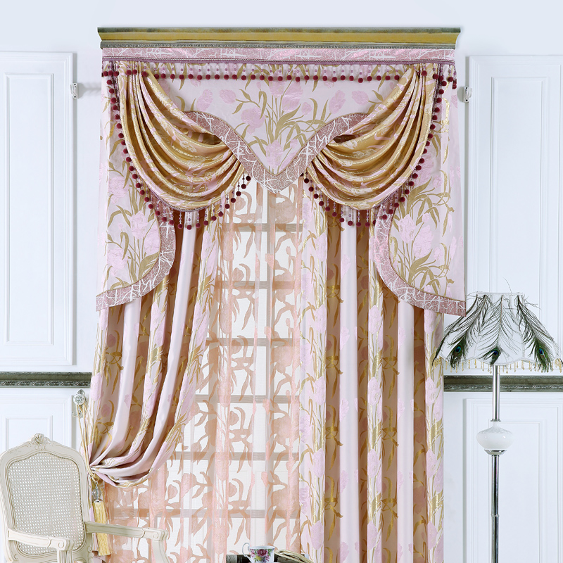 new 2013 light purple leaf the cloth quality modern fashion living room string curtain room. Black Bedroom Furniture Sets. Home Design Ideas