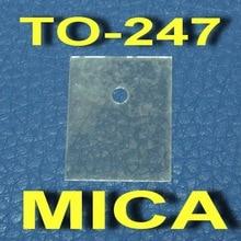 (1000 шт./лот) к-247 транзистор MICA изолятор, изоляция лист.