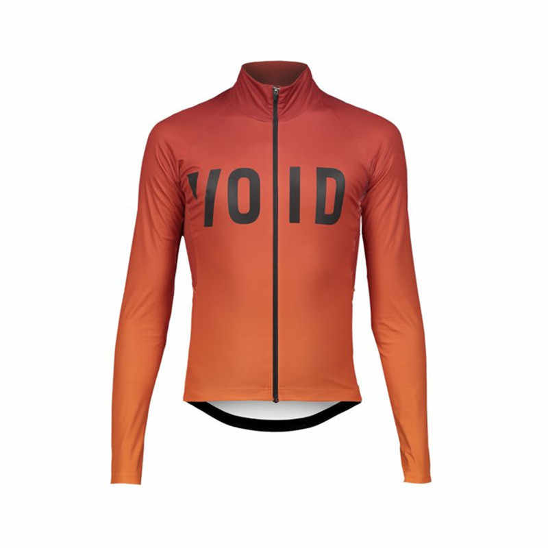 2019 high quality Custom New VOID ARMOUR LS Winter jacket CYCLING full  sleeve jersey race Climbing fa9ea76e2