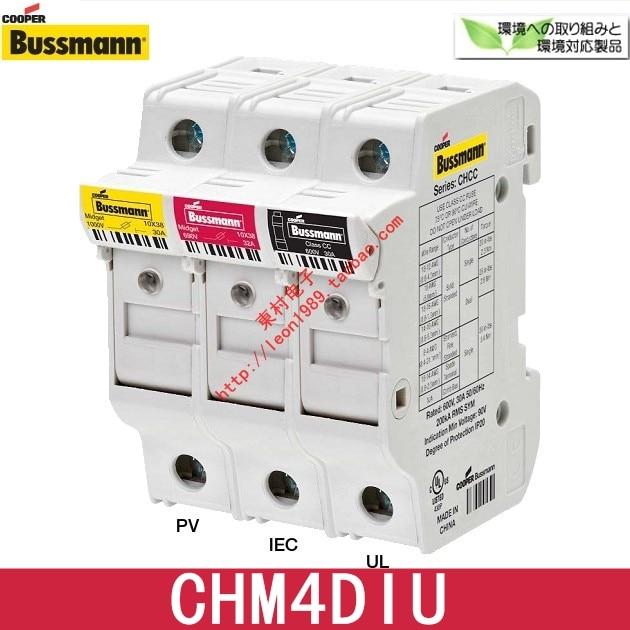 [SA]US Cooper Bussmann Fuseholders CHM4DIU CHM4DU fuse holder 10 & times; 38mm--10PCS/LOT пилочка для ногтей leslie store 10 4sides 10pcs lot