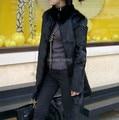 2016 New Women Real Rabbit Fur Coat Female Winter Rabbit Fur Jacket Warm Winter Natural Fur Outerwear