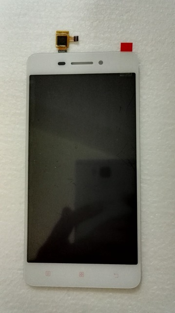 For lenovo S60 S60-a Lcd display screen+touch digitizer glass assembly White color free shipping
