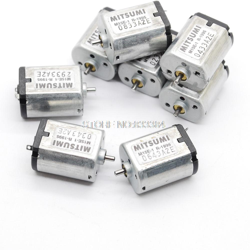 20 штук 3-6 В DC 9500-19500 об./мин. mitsumi постоянного тока Micro Мотор короткий вал для воздушного насоса