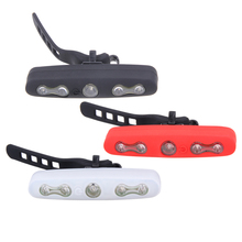 Free Shipping Bicycle Lighting Bike Super Bright 5 LED Lamp Cycling Rear Tail Night Safety Light Cycling Accessories