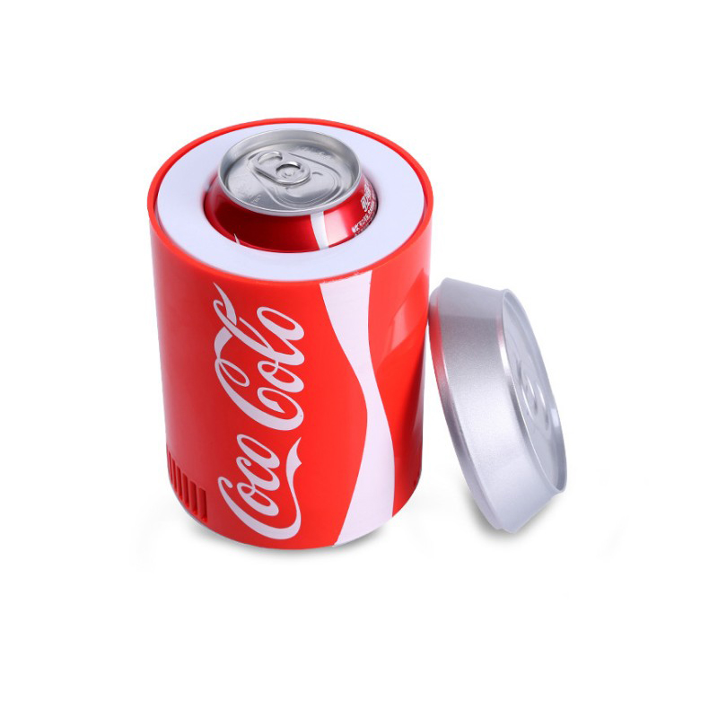 Car Mini Fridge USB Hot And Cold Dual-UseGadget Beverage Cans Cooler Warmer Refrigerator Mini Car Fridge Car Cooler Fridge