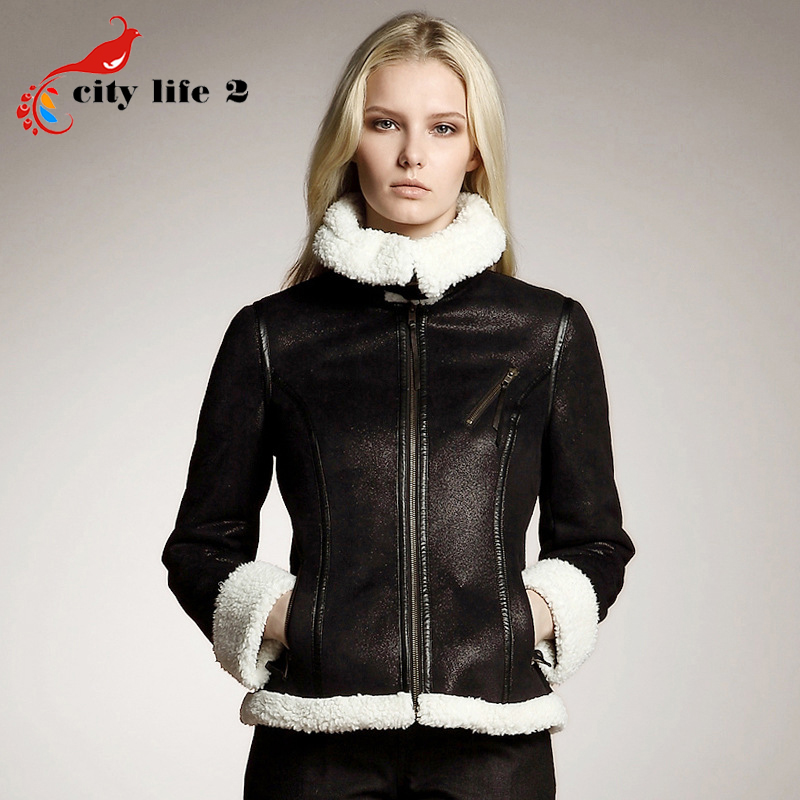 Womens short leather biker jacket – Modern fashion jacket photo blog