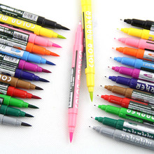 12Colors Art Marker Set Oily Alcoholic Dual Headed Artist Sketch Copic Markers Pen For Animation Manga Design(China)