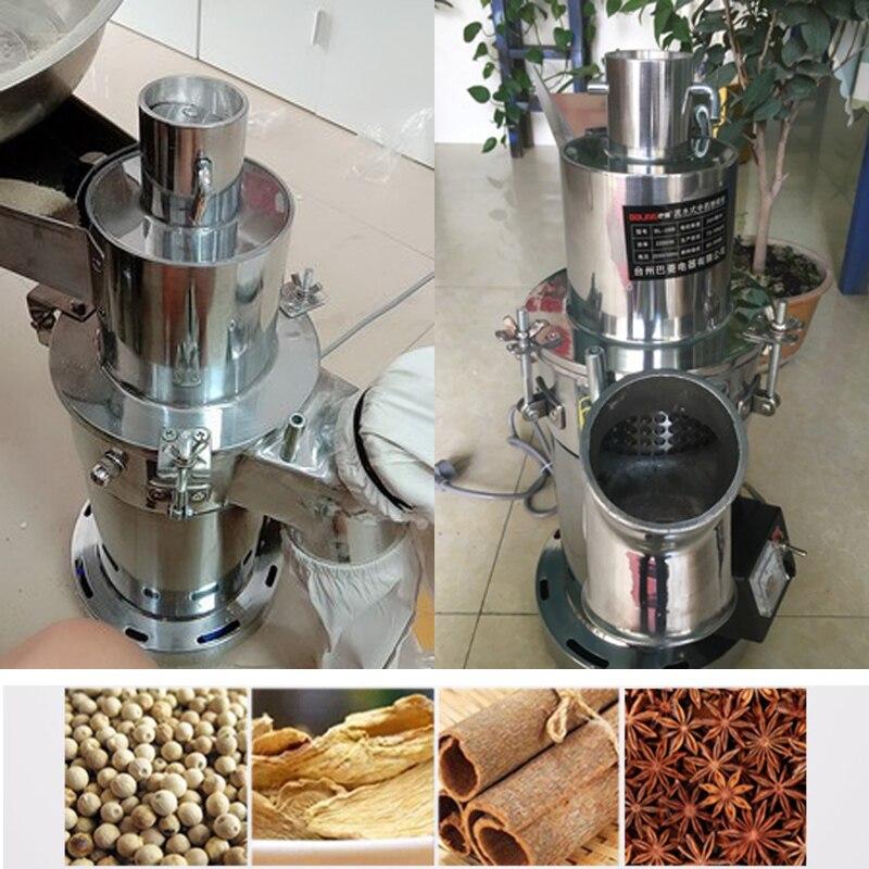 20000g Edelstahl Elektrische Lebensmittel Mühle 220 V Kraut Gewürze Körner Kaffee Schleifen Maschine Trockenen Pulver Mehl Maker SpäTester Style-Online-Verkauf Von 2019 50%