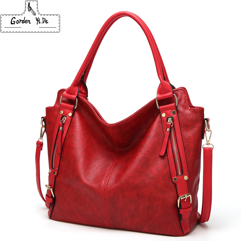 Real Cow Leather Ladies HandBags Women Genuine Leather bags Totes Messenger Bags Hign Quality Designer Luxury Brand Shoulder Bag