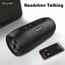 IJVERAAR S16 HIFI Bluetooth Speaker Super Bass Draadloze Stereo Soundbar AUX TF Card Play Outdoor Handsfree Met Microfoon Touch Control