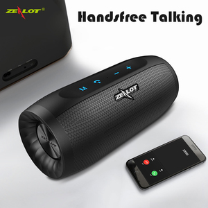 Image 1 - ZEALOT S16 HIFI Bluetooth Speaker Super Bass Wireless Stereo Soundbar AUX TF Card Play Outdoor Handsfree With Mic Touch Control